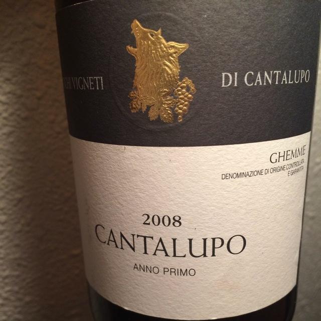Cantalupo Anno Primo Ghemme Nebbiolo 2008
