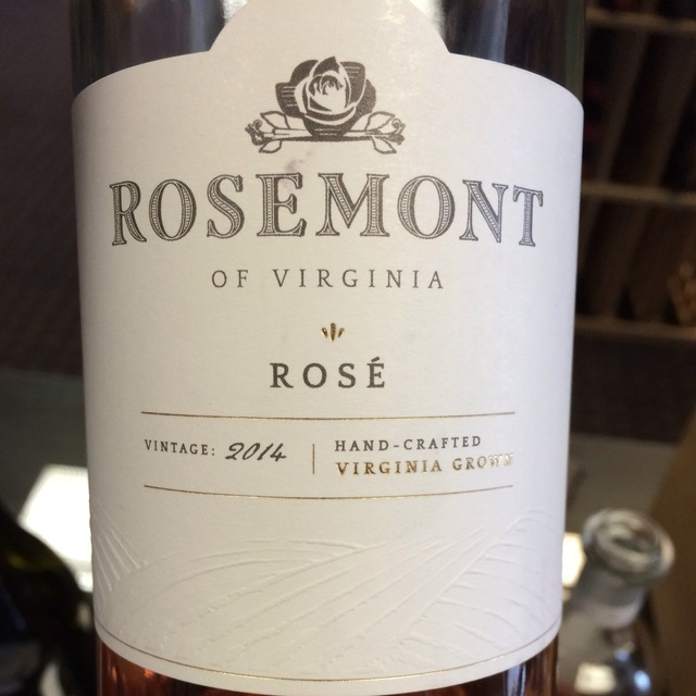 Rosemont of Virginia Rosé Blend 2015