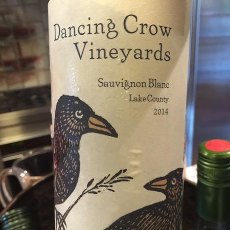 Dancing Crow Vineyards Lake County Sauvignon Blanc 2015