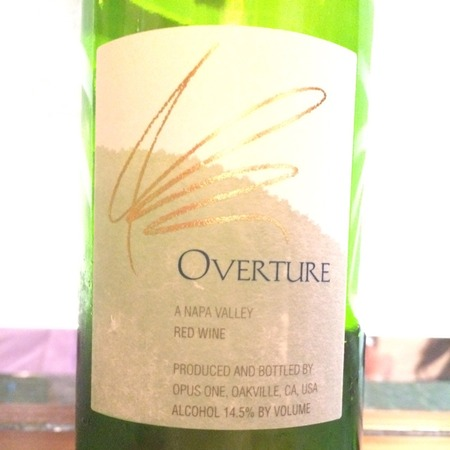 Opus One Overture Napa Valley Red Bordeaux Blend 2014