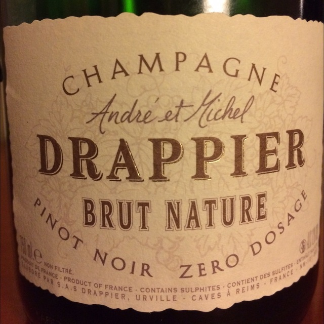 Zero Dosage Brut Nature Champagne Pinot Noir NV