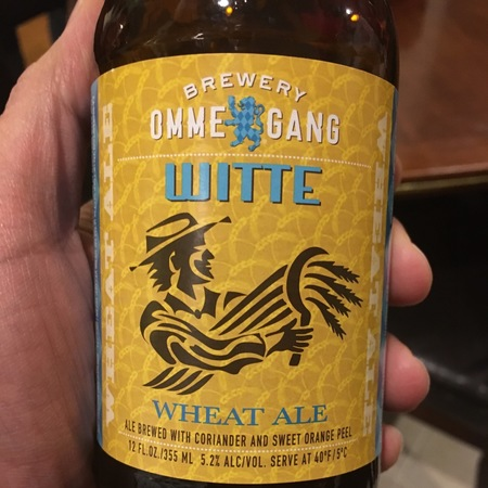 Brewery Ommegang Witte Wheat Ale NV (12ml)