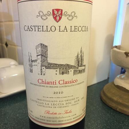 Castello la Leccia Chianti Classico Sangiovese 2013