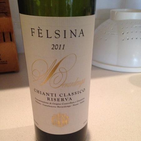 Fattoria di Fèlsina Berardenga Riserva Chianti Classico Sangiovese 2011