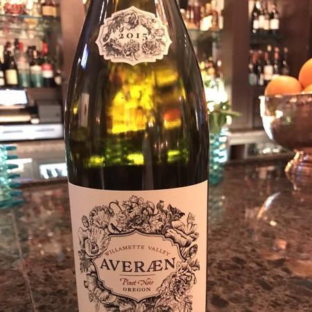 Averaen Willamette Valley Pinot Noir 2015