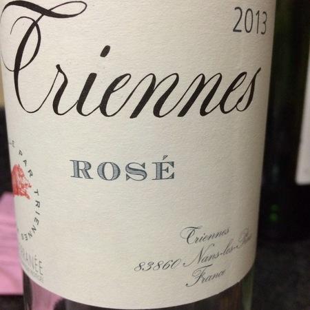 Domaine de Triennes Vin de Pays du Var Cinsault Blend Rosé 2016