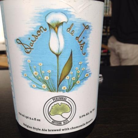 Perennial Artisan Ales Saison de Lis NV