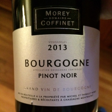 Domaine Morey-Coffinet Bourgogne Pinot Noir 2015
