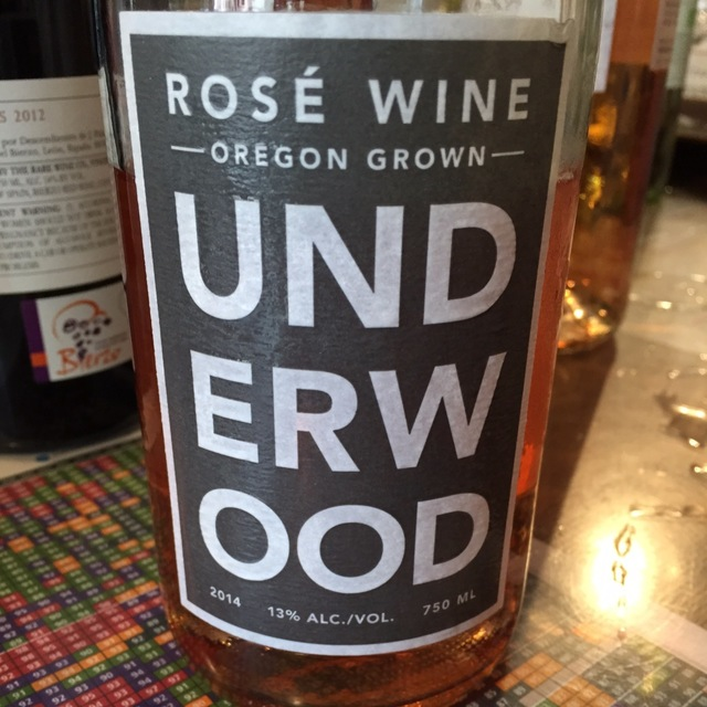 Underwood Oregon Rosé Pinot Noir 2015 (375ml)