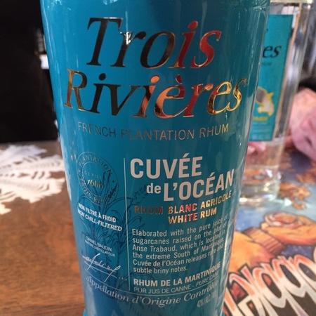 Sainte-Luce Trois Rivières Cuvee de L'Ocean French Plantation Rhum Blanc NV