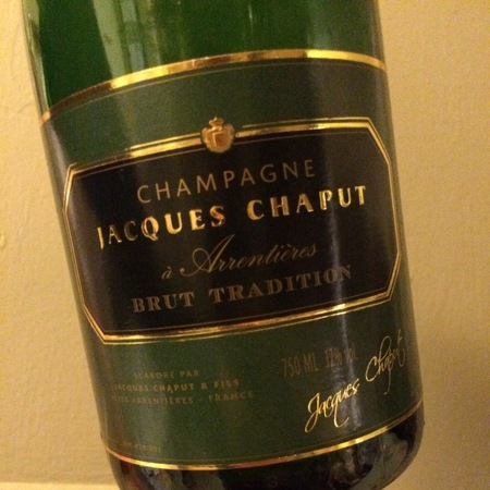 Jacques Chaput Brut Tradition Champagne Blend NV