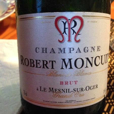 Robert Moncuit Le Mesnil-sur-Oger Grand Cru Blanc de Blancs Brut Champagne Chardonnay NV