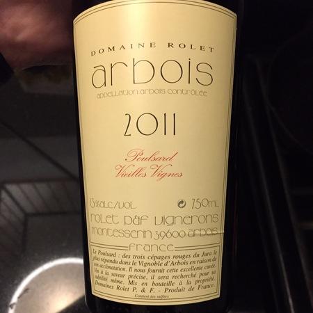 Domaine Rolet Vieilles Vignes Arbois Poulsard 2014
