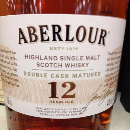 Aberlour 12 Years Old Double Cask Matured Highland Single Malt Scotch Whisky NV