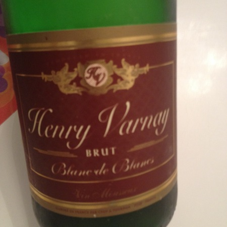 Henry Varnay Blanc de Blancs Brut Chardonnay