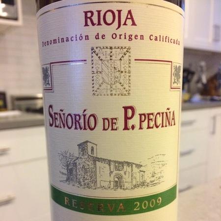 Bodegas Hermanos Peciña Señorío de P. Peciña Reserva Rioja Tempranillo 2006 (1500ml)
