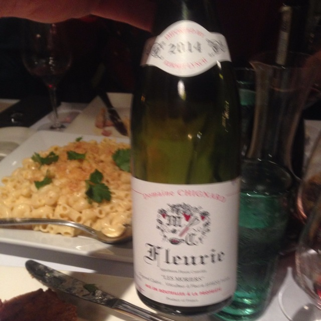 """""""Les Moriers"""" Fleurie Gamay 2014"""