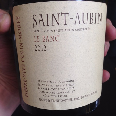 Pierre-Yves Colin-Morey Le Banc Saint-Aubin Chardonnay 2014