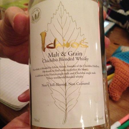 Chichibu Ichiro's Malt & Grain Chichibu Blended Whisky NV