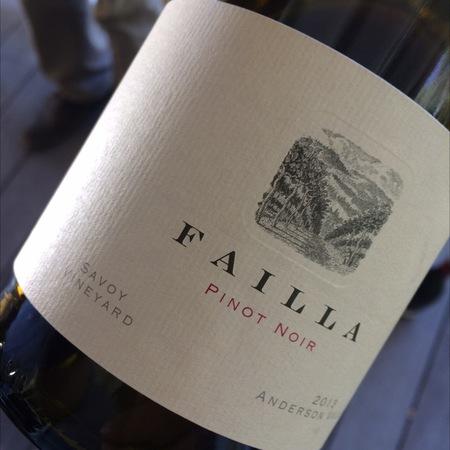 Failla Savoy Vineyard Pinot Noir 2013