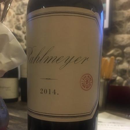 Pahlmeyer Proprietary Red Napa Valley Cabernet Sauvignon Blend 2014