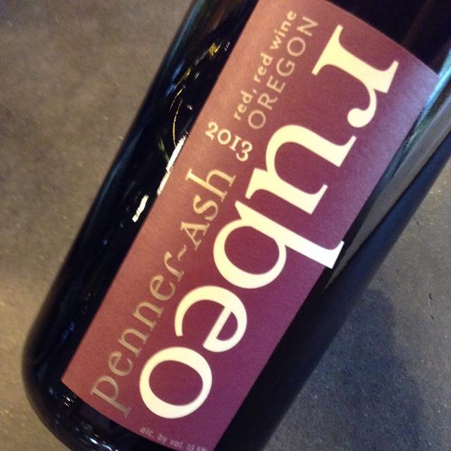 Rùbeo Oregon Pinot Noir Syrah 2013