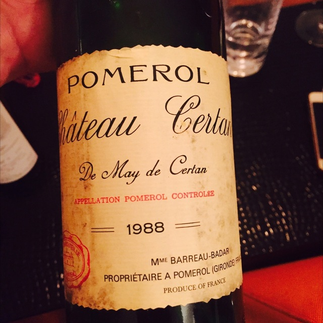 Pomerol Red Bordeaux Blend 1988