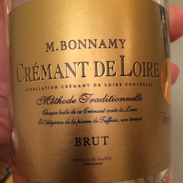 Crémant de Loire Brut Chenin Blanc NV
