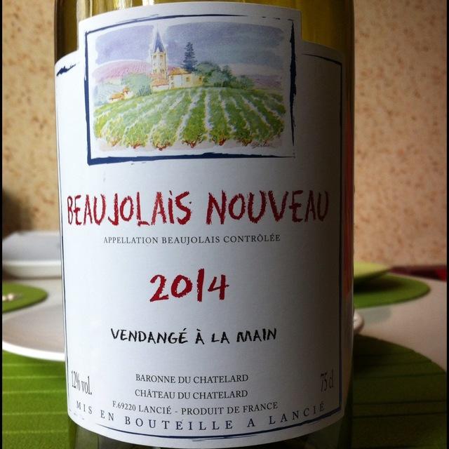 Beaujolais Nouveau Gamay 2013 (3000ml)