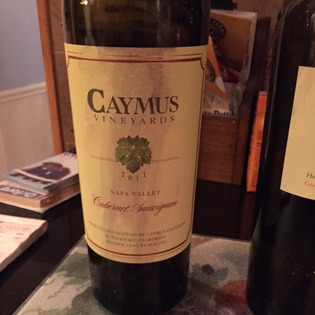 Caymus Vineyards Napa Valley Cabernet Sauvignon 2014