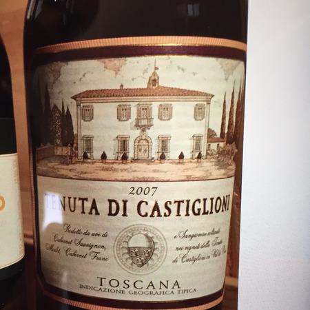 Marchesi de' Frescobaldi Tenuta Frescobaldi di Castiglioni Toscana Super Tuscan Blend 2007