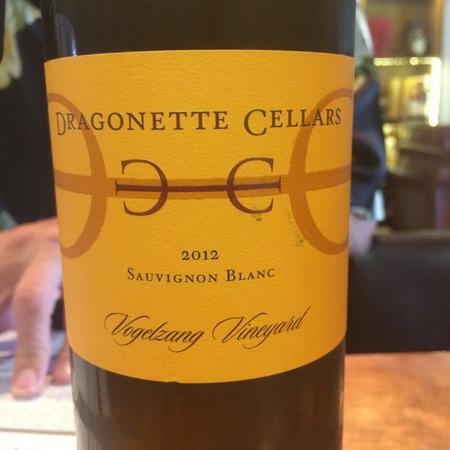 Dragonette Cellars Vogelzang Vineyard Sauvignon Blanc 2012