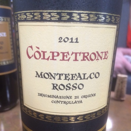 Còlpetrone Montefalco Rosso Sangiovese Blend 2011