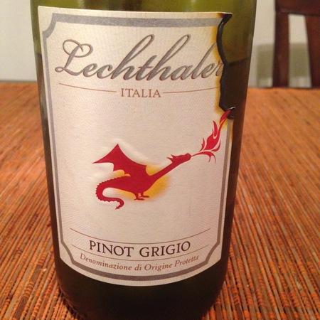 Lechthaler Trentino Drago Pinot Grigio 2015