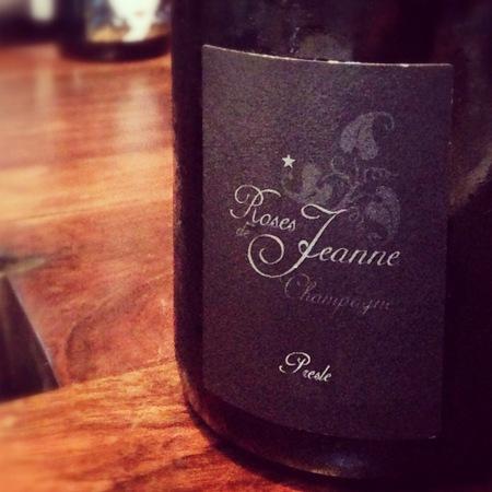 Cédric Bouchard Roses de Jeanne Presle Blanc de Noirs Champagne 2013