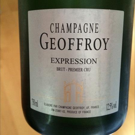 René Geoffroy Expression 1er Cru Brut Champagne Blend NV