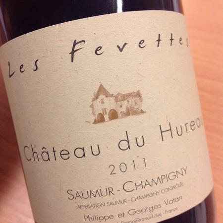 Château du Hureau Les Fevettes Saumur-Champigny Cabernet Franc 2011