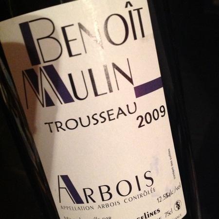 Le Cellier des Tiercelines Benoît Mulin Arbois Trousseau 2011