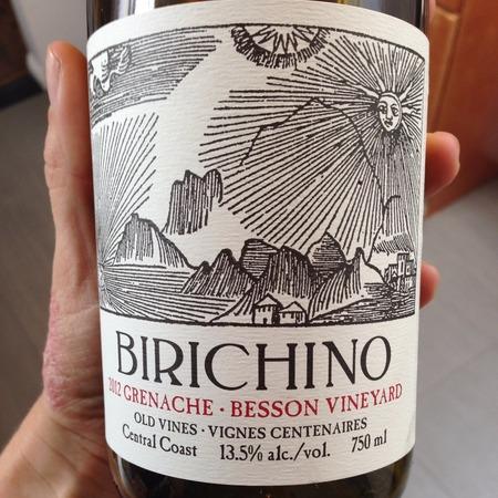 Birichino Old Vines Besson Vineyard Grenache NV
