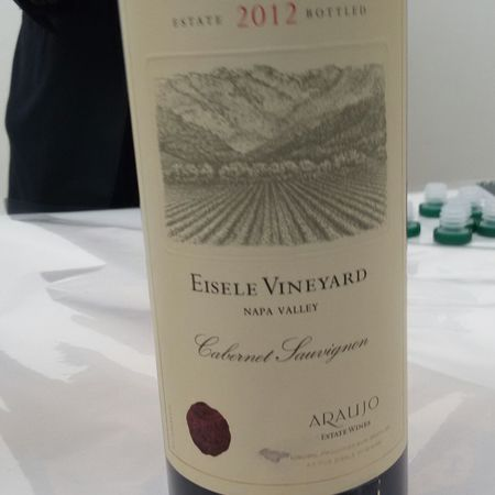 Araujo Estate Eisele Vineyard Cabernet Sauvignon 2012