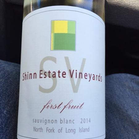 Shinn Estate Vineyards First Fruit Sauvignon Blanc 2014