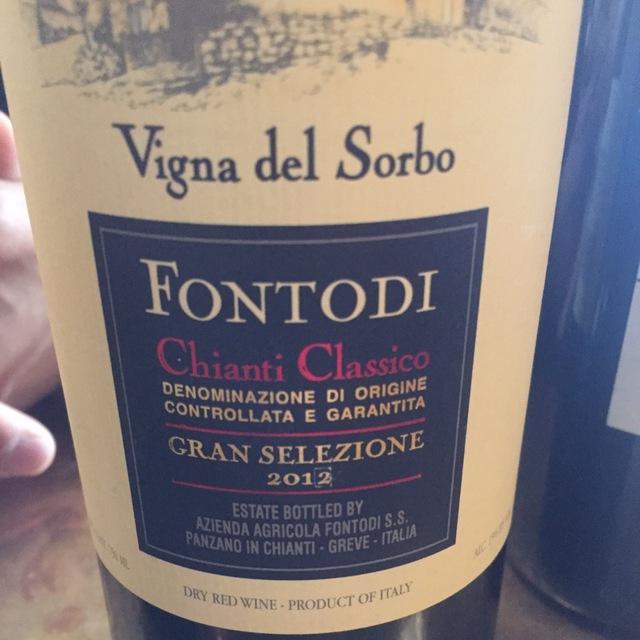 Vigna del Sorbo Gran Selezione Chianti Classico Sangiovese Blend 2012