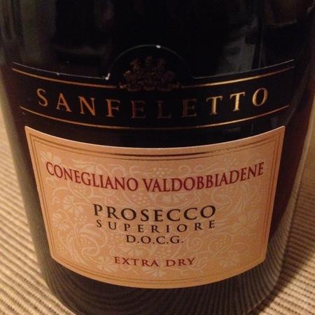 Sanfeletto Conegliano Valdobbiadene Extra Dry Prosecco Superiore