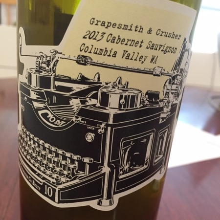 Grapesmith & Crusher Columbia Valley Cabernet Sauvignon 2014