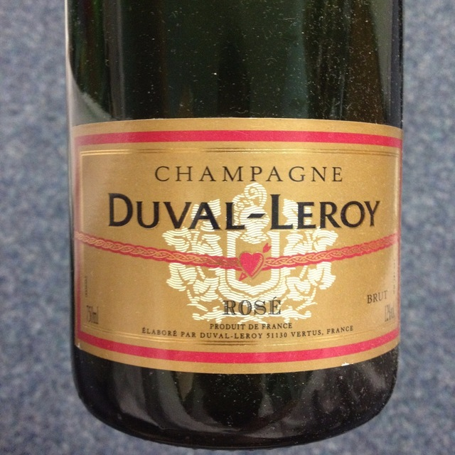 Champagne Brut Rosé  NV (375ml)