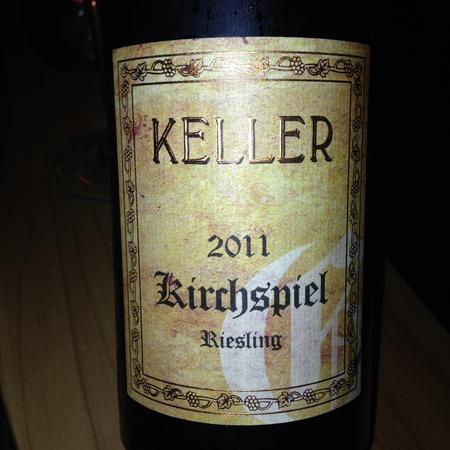 Weingut Keller Kirchspiel Grosses Gewächs Riesling 2011