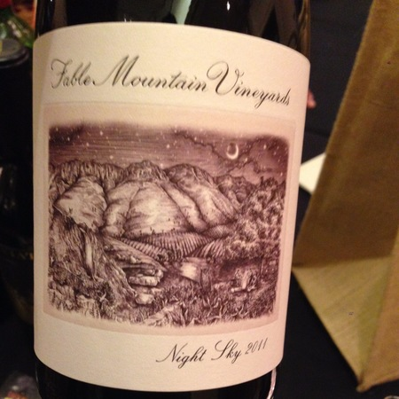 Fable Mountain Vineyards Night Sky Red Blend NV
