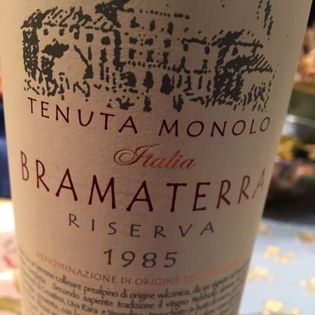 Tenuta Monolo Riserva Bramaterra Nebbiolo Blend 1996