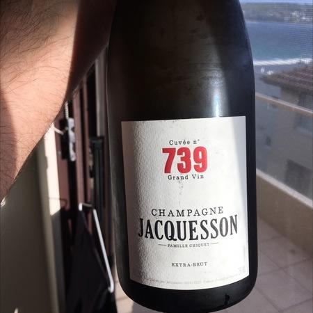 Jacquesson & Fils Cuvée No. 739 Extra Brut Champagne Blend NV