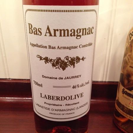 Domaine de Jaurrey Laberdolive Bas Armagnac 1995